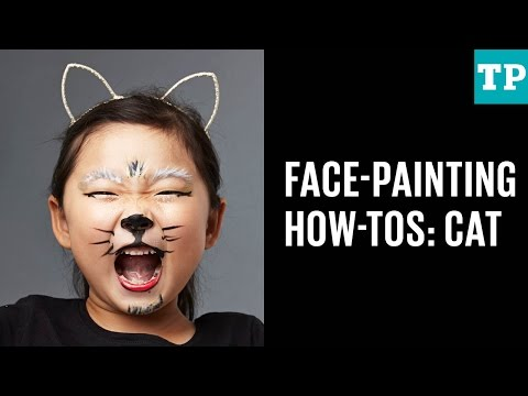 Halloween face-painting how-tos: Cat