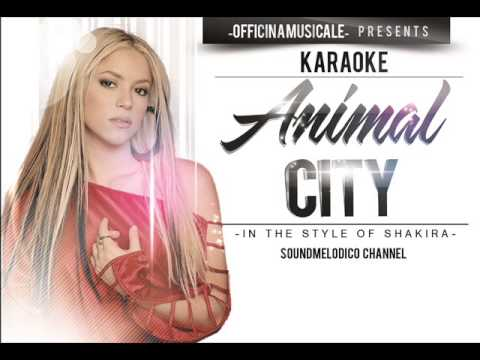 Animal City -  in the style of Shakira