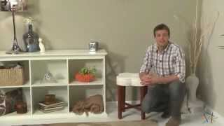 Clover Vanity Stool - Product Review Video