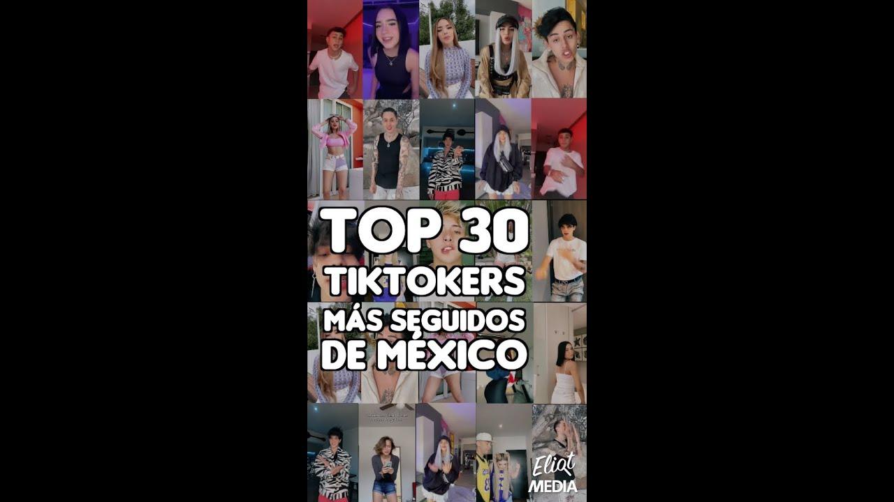 ESTE ES EL TOP 30 DE TIKTOKERS MÁS SEGUIDOS EN MÉXICO #Shorts