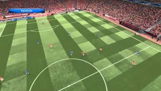 PES2015 Gameplay (PC): Arsenal vs Chelsea