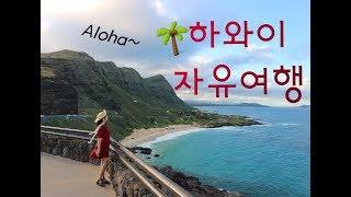 하와이 5박 7일 자유여행 [오아후섬]