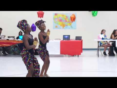 #5 Two Girl African Dance (Crown Point Elementary School Multicultural Day)