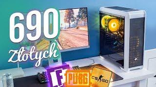 Komputer GAMINGOWY za 690ZŁ [2019] !!!