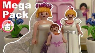 Playmobil Hochzeit - Mega Pack von Familie Hauser - Geschichten für Kinder und die ganze Familie