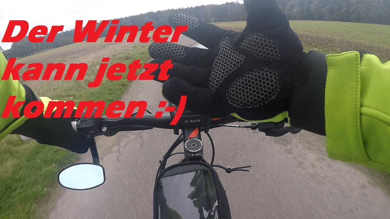 e bike vlog 7 ab durch den winter beleuchtung am e. Black Bedroom Furniture Sets. Home Design Ideas