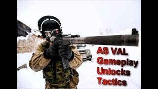 Battlefield 4 - AS VAL PC Gameplay/Unlocks/Tactics