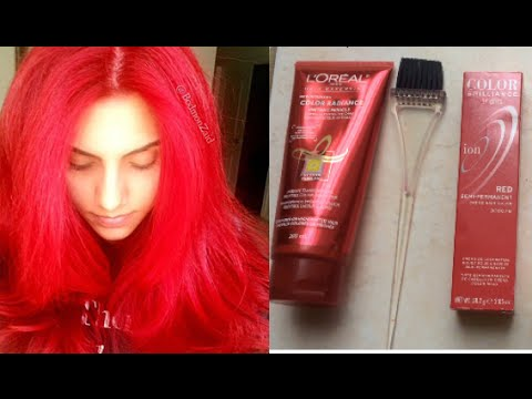 how to maintain red hair diy color depositing conditioner youtube