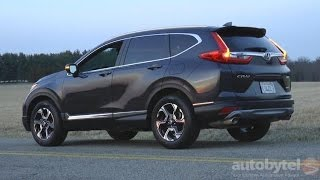 2017 Honda CR-V Touring AWD Test Drive Video Review