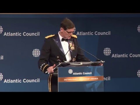 Distinguished Leadership Awards Remarks by Chuck Hagel and Joseph L. Votel
