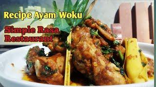 Woku chicken recipe typical of Manado - Java | Simple Chef style restaurant taste juna