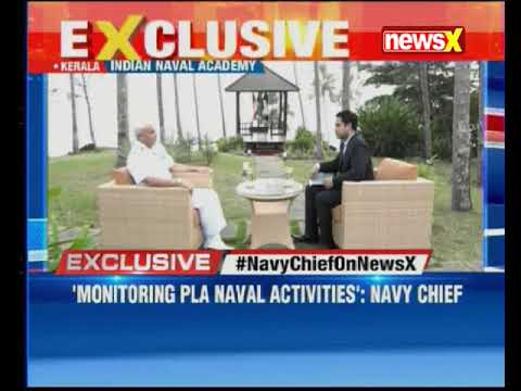 Navy Chief and Chairman, COSC Admiral Sunil Lanba in an exclusive interview on NewsX