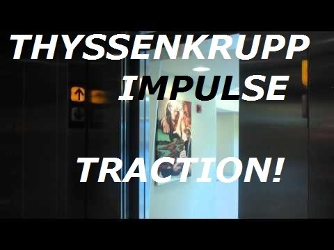 ThyssenKrupp Impulse traction elevators at Hixson-Lied science building, CU, Omaha NE