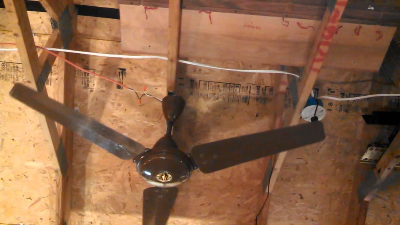 moss caribbean breeze ceiling fan mark v (madegec) - youtube