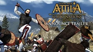 Total War: ATTILA – Slavic Nations Pack Announce Trailer