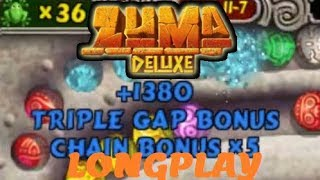 [Zuma Deluxe] Longplay: Default Adventure Mode