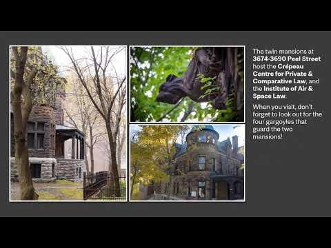 A photo tour of our buildings / Visite en photos de nos pavillons