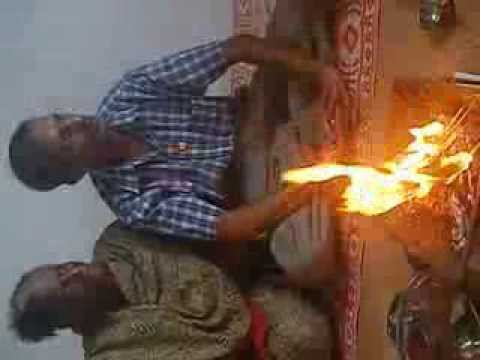 Gayatri Kund Yagya at a devotee in Port Louis on Friday 13 July 2012 - Part 2