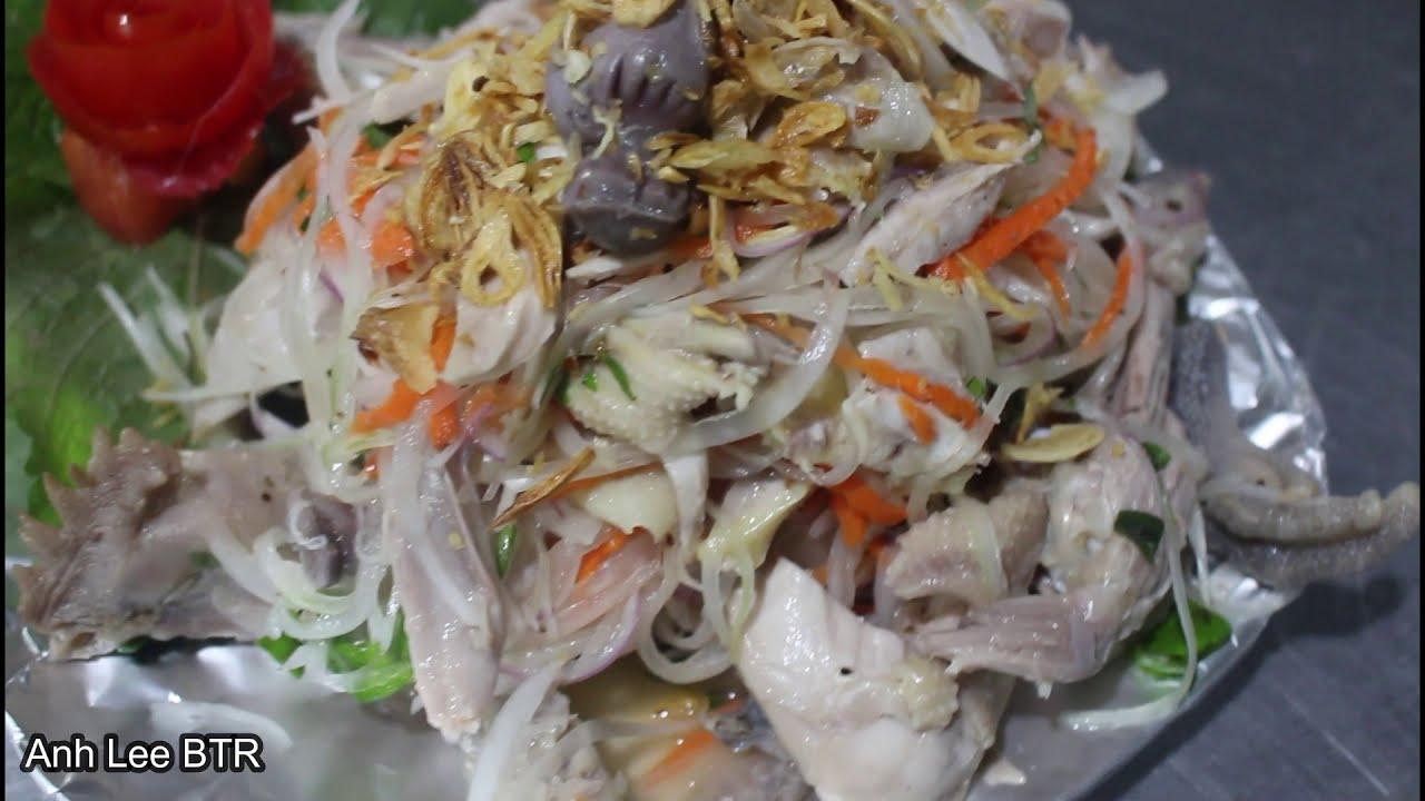 Công Thức Và Cách Làm Món Ăn Ngon Gỏi Gà Xé Phay |Anh Lee BTR tập 46