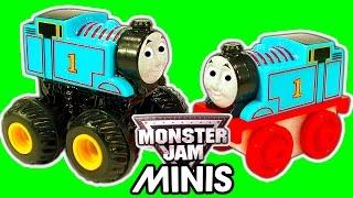 Thomas The Tank Minis Monster Jam Custom Monster Truck Toy Train Mashup