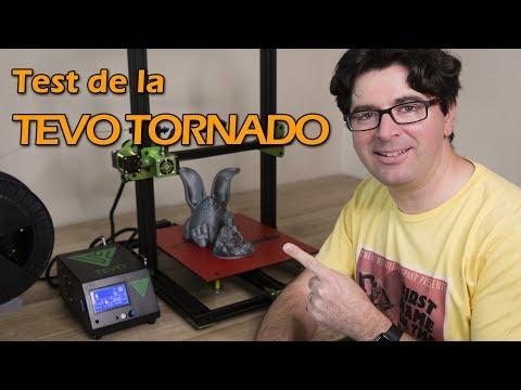 Test de l'imprimante 3D Tevo Tornado - Prix agressif mais...