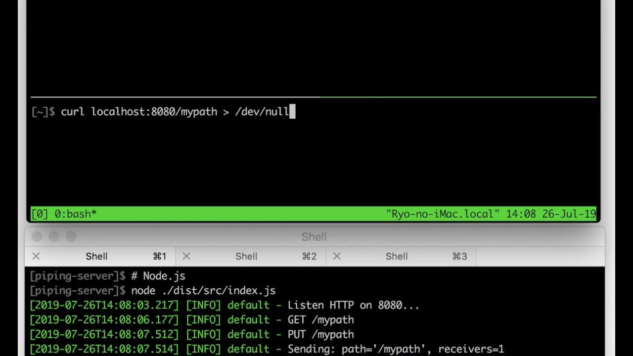 Piping Server Transfer Speed - Node js vs Rust (Hyper) vs Rust (Tiny-http)