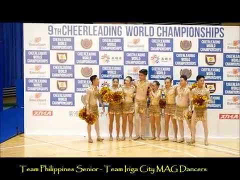 2017 9th CWC Team Philippines Team Iriga City   MAG Dancers   Cheer Dance Senior   Day 2 Gold Perfor