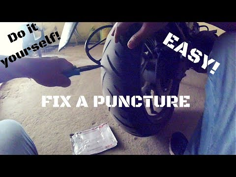 Tubeless Tyre Puncture Repair