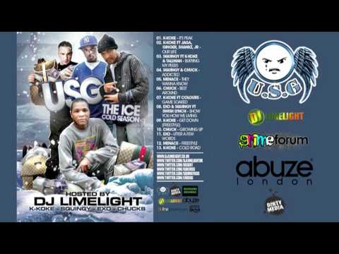 Get Down (Freestyle)- K-Koke (USG) from The Ice Cold Season Mixtape: Hosted by DJ Limelight