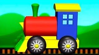 Çizgi film - Tren (Build and Play - Train) Конструктор - паровозик