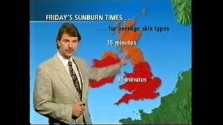 BBC Weather 22nd June 1995