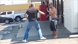 Fancy moves no good for a street fight mate