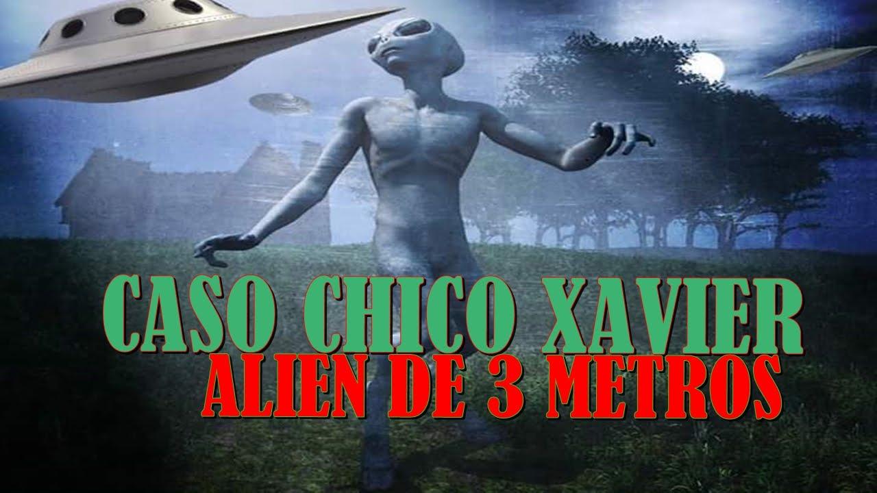Caso Chico Xavier e o Alien de 3 metros