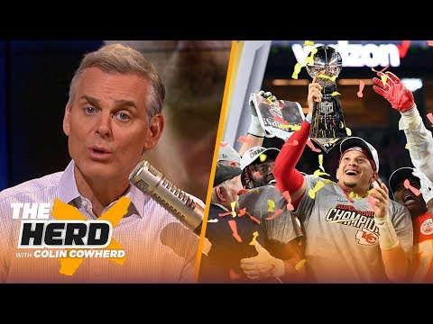 Colin Cowherd reacts to the Chiefs' Super Bowl LIV victory against the 49ers   NFL   THE HERD