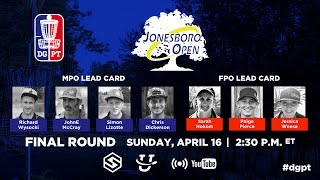 Pro Tour: Jonesboro Open - FINAL Round 4 LIVE