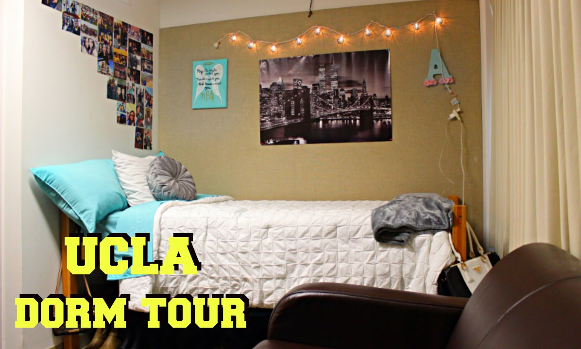 Ucla Dorm Tour Youtube