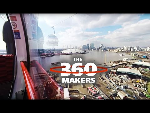 360 DEGREE VIDEO OF LONDON EMIRATES AIRLINE CABLE CAR
