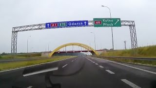 Autostrada A1 Kutno - Gdańsk (2015)