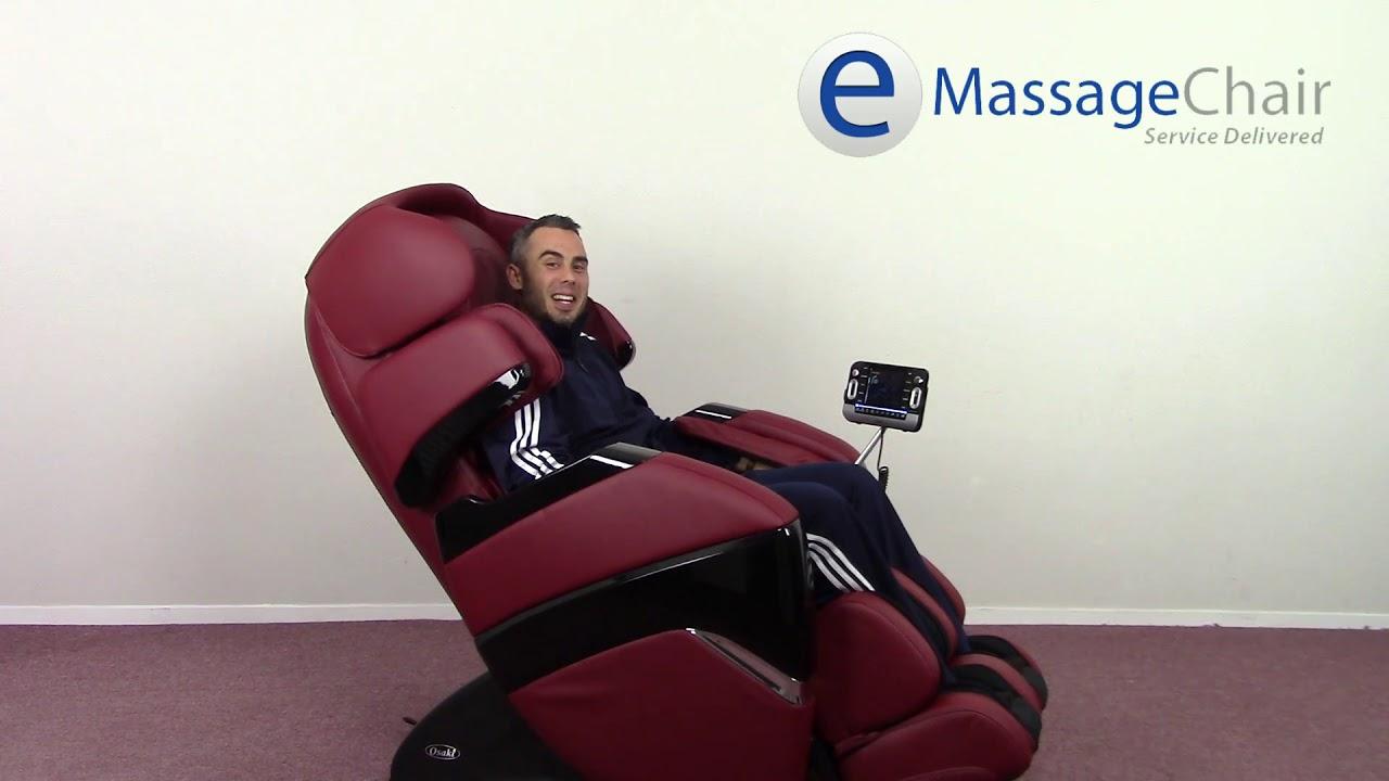 Osaki Os 3d Pro Cyber Massage Chair Padded Folding Zero Gravity Youtube