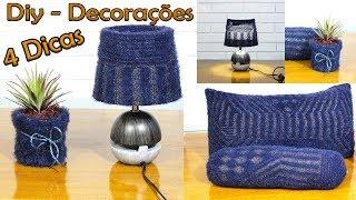 Reaproveitando Blusa de Lã Para Fazer Itens de Decoração