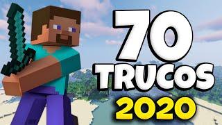 ✔️ 70 TRUCOS que deberías saber en MINECRAFT SURVIVAL 2020