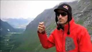 Loic Jean-Albert Wingsuit Flying