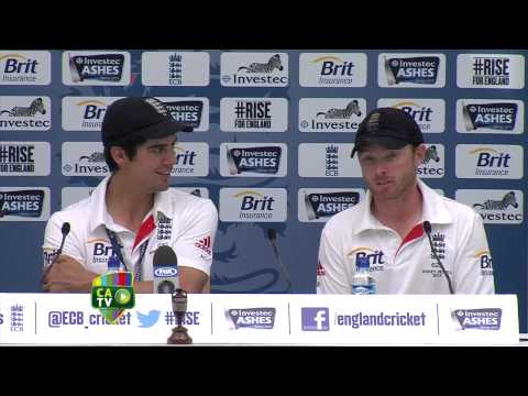 Cook and Bell reflect on their series win