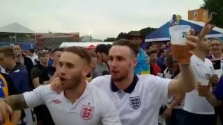 ПРИКОЛ АНГЛИЙСКИЕ ФАНАТЫ ПОЮТ ПУТИН Х@ЙЛО! English and Ukrainian fans on EURO 2016, putin huilo!