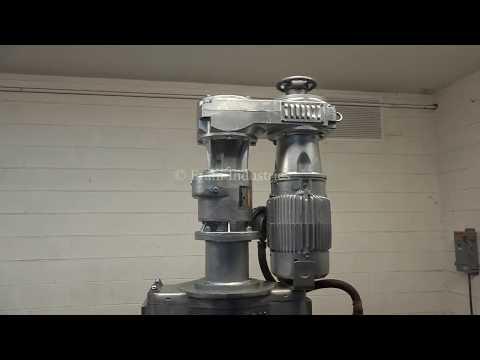 Hamilton, 50 gallon, 304 stainless steel, jacketed triple motion kettle