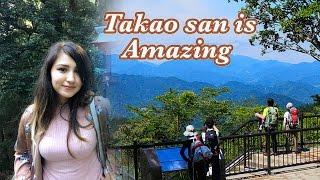 初めて高尾山に行きました!AMAZING!!