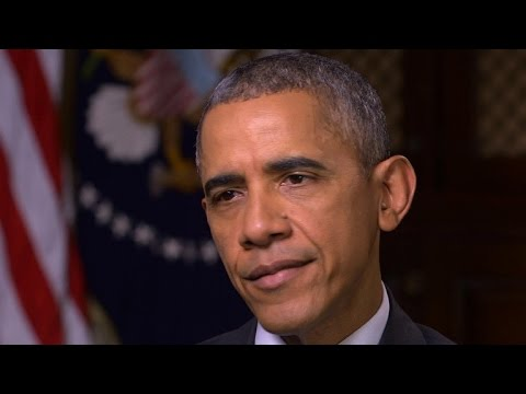 Obama on threat of terrorism vs. climate change