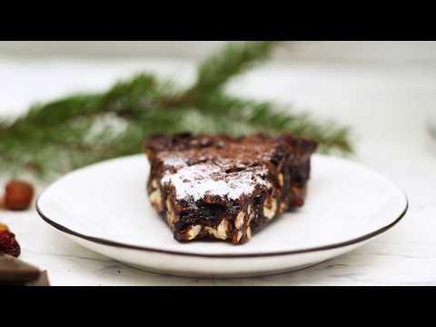CHOCOLATE CHRISTMAS CAKE (PANFORTE)