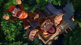Donkey Kong Country Tropical Freeze 100% Walkthrough - World 1-3 Secret Exit, 1-B, 1-4