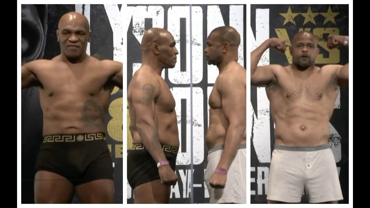 Download ITS ACTUALLY F***** HAPPENING! - *MIKE TYSON v ROY JONES JR* - (FULL & COMPLETE) OFFICIAL WEIGH IN